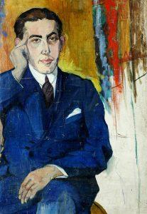 Jan Brzechwa, portret olejny Celiny Sunderland
